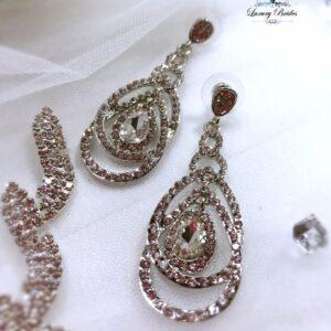 Swarovski Bridal Earrings Sophie