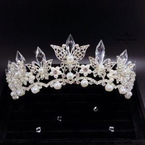 Crystal Wedding Tiara Esabel
