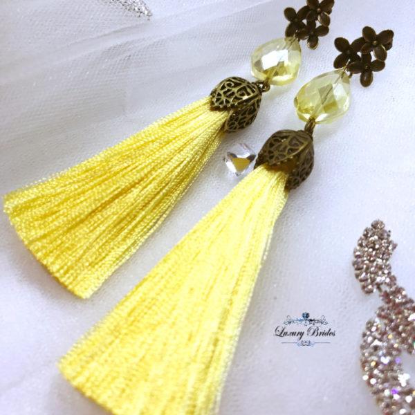 Tassel Jewelry Set Yasmine
