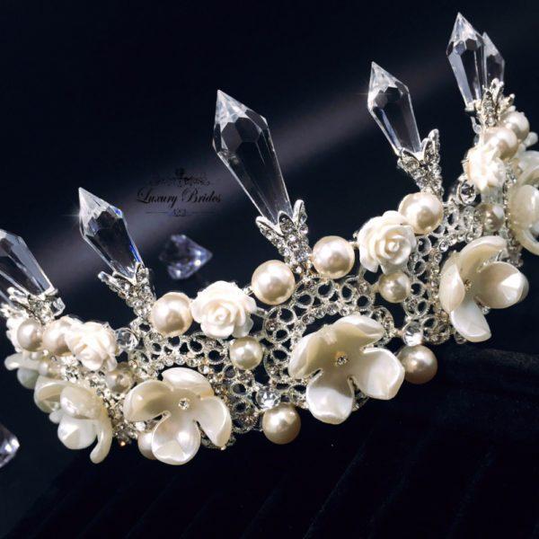 Crystal Wedding Tiara Snezana