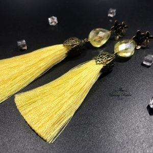 Tassel Earrings Airy Kiss