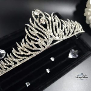Crystal Wedding Tiara Amalia