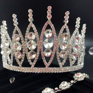 Crystal Wedding Tiara Cherry