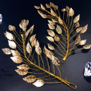 Leaf Headband Сamellia