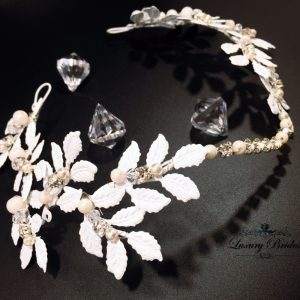 Bridal Hair Wreath Lolita
