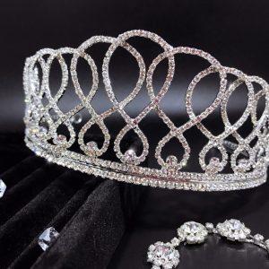 Crystal Wedding Tiara Infinity