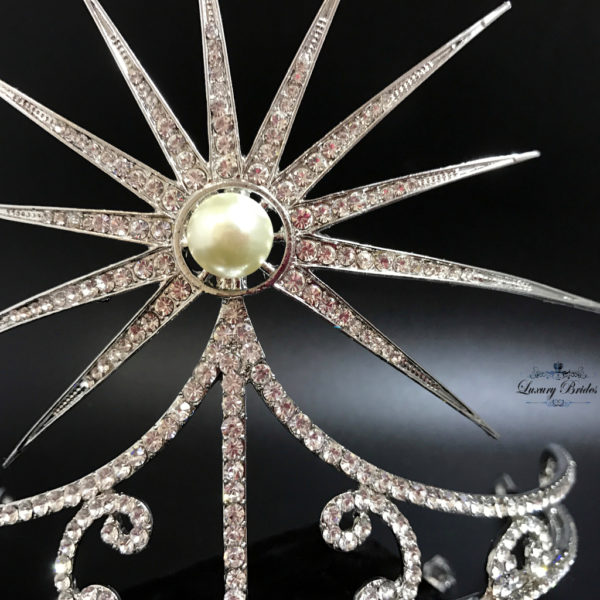 Crystal Wedding Tiara Moonlight