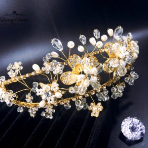 Gold Wedding Headpiece Kamila