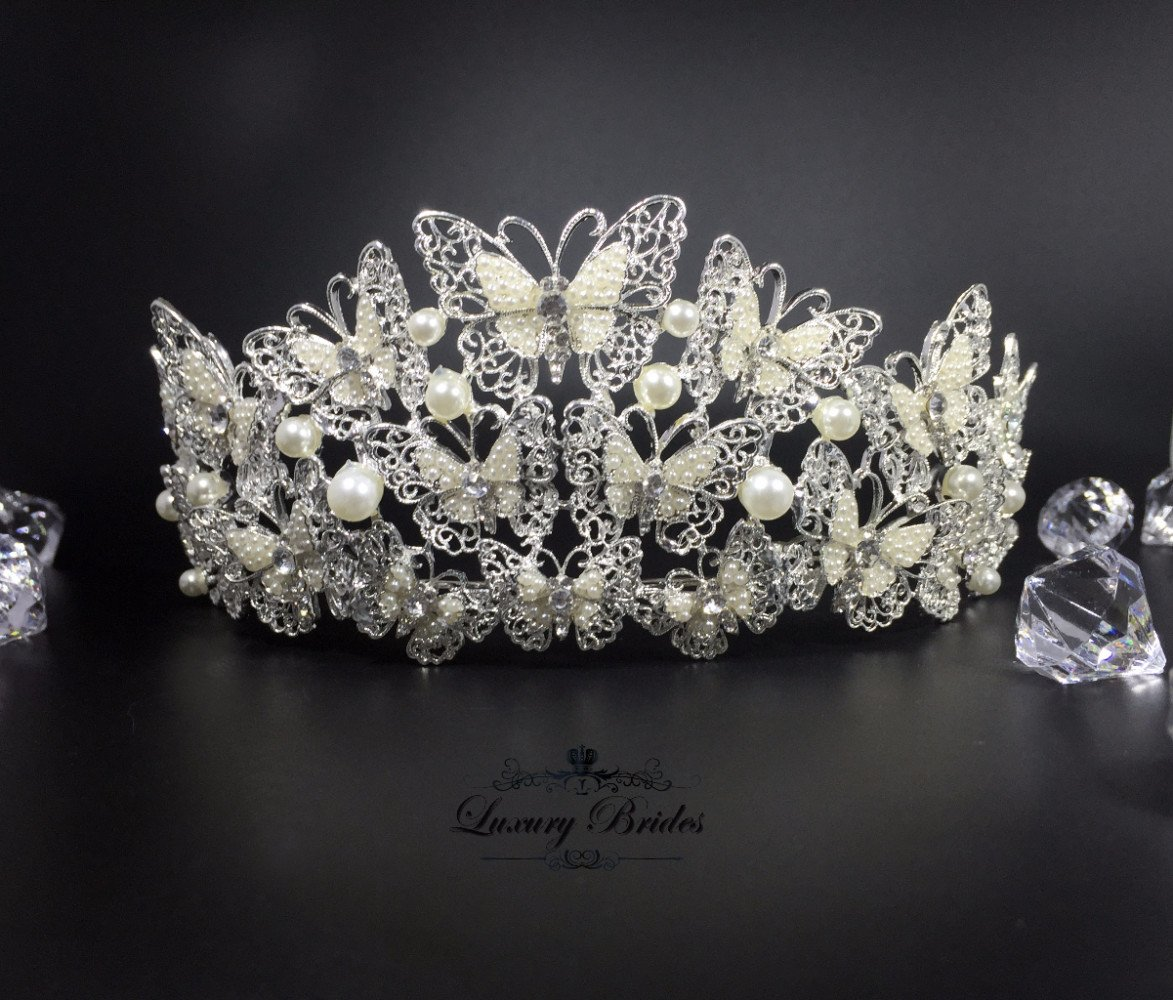 Bridal Butterfly Tiara Tiffany Luxury Tiaras