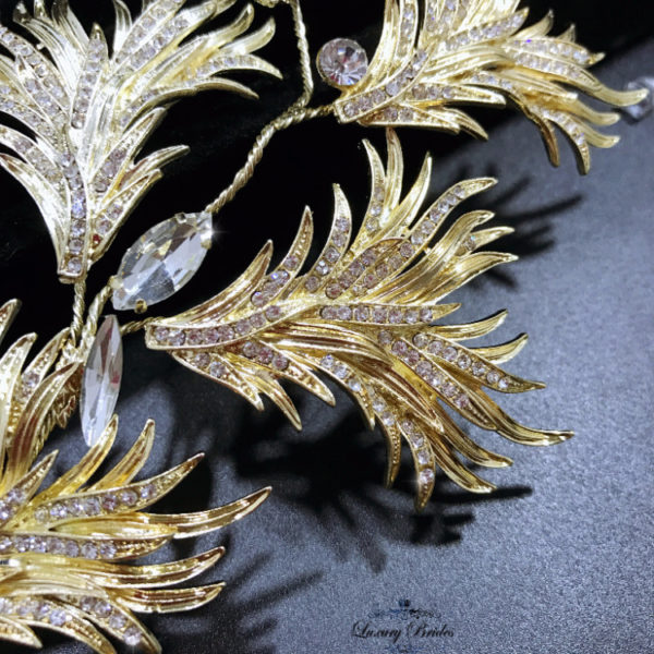 Golden Leaves Headpieces Spark