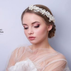 Pearl Bridal Headpiece Lourel