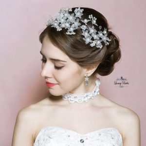 Crystal Wedding Comb Triana