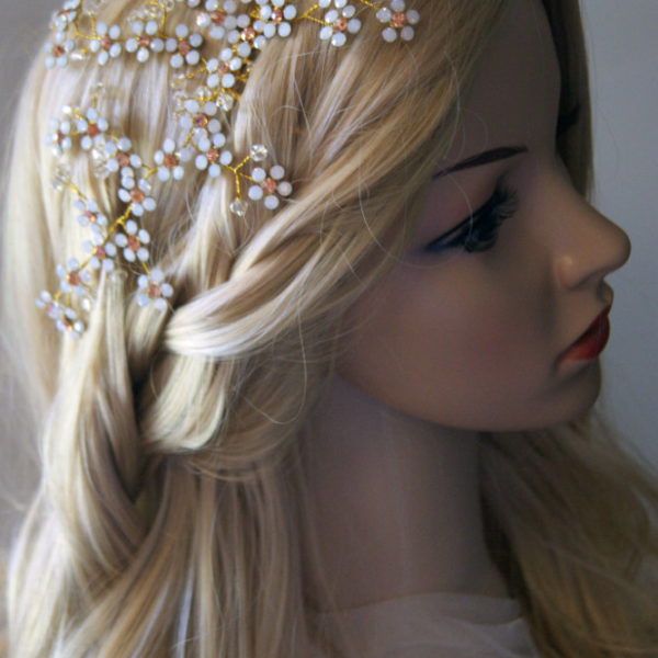 Swarovski Bridal Comb Katrina