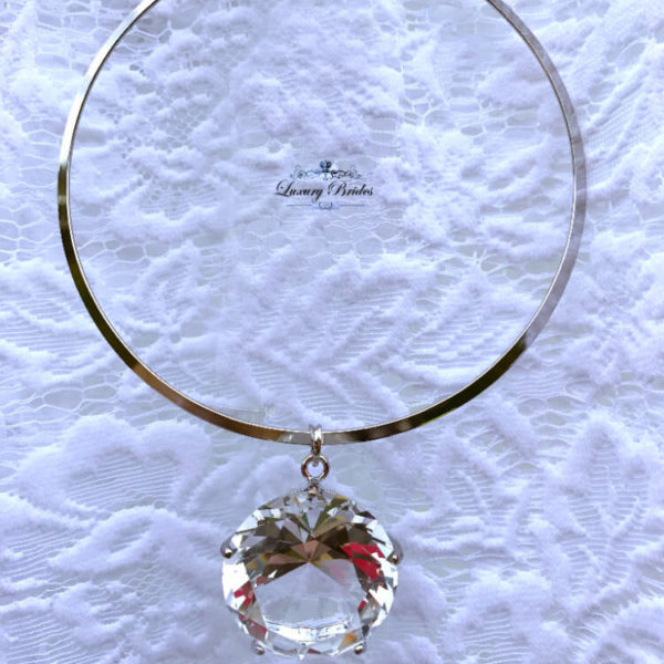 Big Crystal Necklace Rosaly