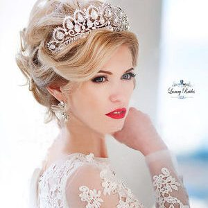 Crystal Wedding Tiara Queen