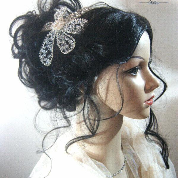 Flower Hair Comb Lunara