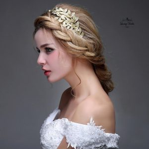 Golden Leaves Tiara Tiana