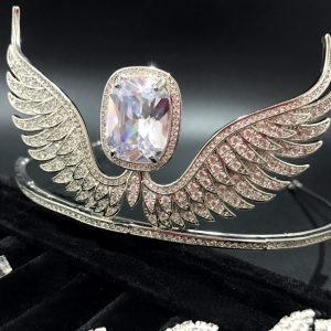 Bridal Tiara Wings