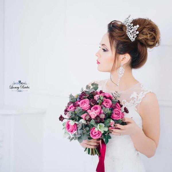 Crystal Wedding Tiara Catherine