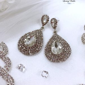 Swarovski Bridal Earrings Lucia