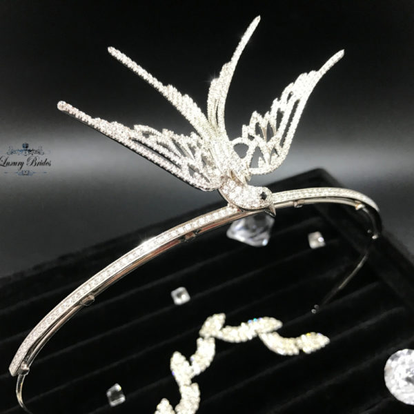Crystal Wedding Tiara Phoenix