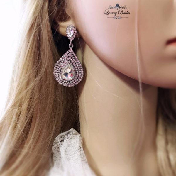 Swarovski Bridal Earrings Lucia