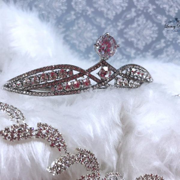 Crystal Wedding Tiara Euphoria