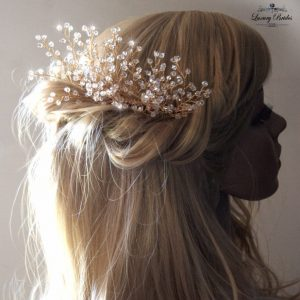 Crystal Bridal Hair Comb Natalie