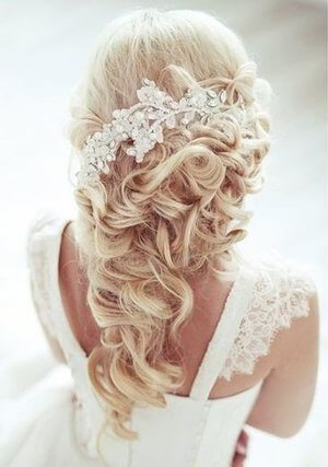 Flower Hair Comb Rosaly