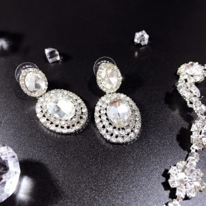 Swarovski Bridal Earrings Meryem