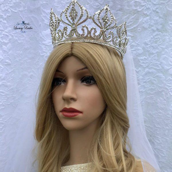 Wedding Bridal Crown Cleo