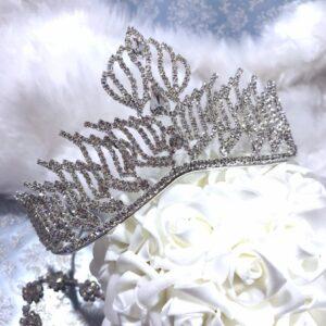 Crystal Wedding Tiara Avrora