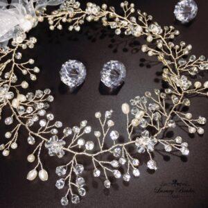 Crystal wreath Katerina