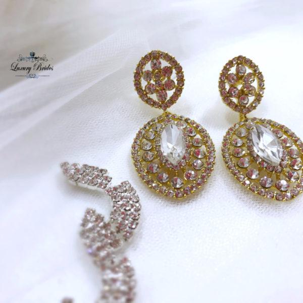 Swarovski Bridal Earrings Memory