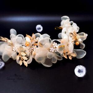 Pearls Bridal Comb Bella