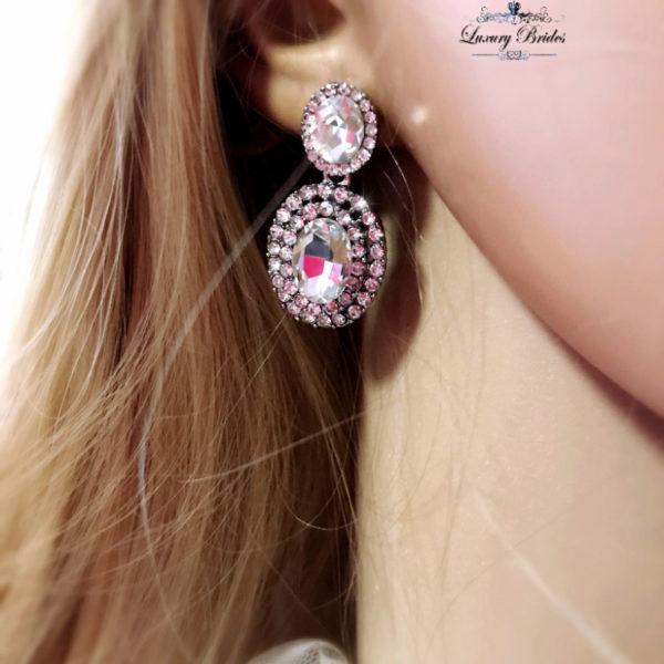 Swarovski Bridal Earrings Meryem