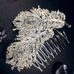 Crystal Hair Comb Josephine